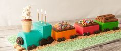 Resultado de imagen de cake train