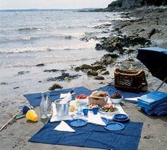 Picnic on the beach in Cornwall #beach #greatbritain