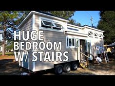 """We visited Mike Bedsole with Tiny House Chattanooga and loved the spacious layout. This tiny house is called """"The Lookout"""" and is build on a 23 foot long goo..."""