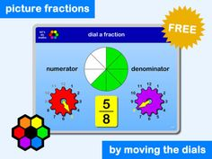 80 best activities and games 3 17 images on pinterest gym dial a fraction by lets do maths fandeluxe Image collections