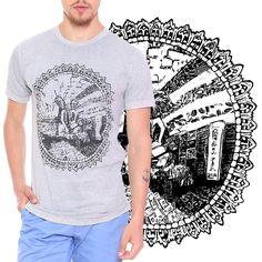 Estampa Elephant desenvolvida para a marca Heir  Encontre em www.heir.com.br