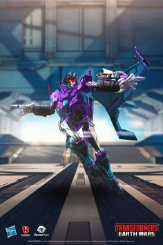 Transformers News: Transformers Earth Wars Female Transformers Gallery and Bios ... including Arcee and Nightbird!