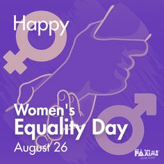 August 26 - Women's Equality Day