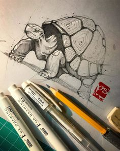 Ink and pencil animal drawings. - Ink and pencil animal drawings. Ink and pencil animal drawings. Ink and pencil animal drawings. Pencil Drawings Of Animals, Animal Sketches, Art Drawings Sketches, Sketch Drawing, Drawing Ideas, Drawing Animals, Painting & Drawing, Anime Sketch, Pencil Art