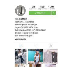 zpr @yllastore 🆕 Girls, sigam esse insta, é um E-commerce (uma loja virtual) das minhas friends lindas e estilosas @camyllawiggers e @nabyllawbb! Tem muitos looks fofos, roupas charmosas e de bom gosto, inspirações e o que há de novidades na moda! Eu indico! 😍😘 #yllastore #fashion #style #like4like #ecommerce #itgirl #moda #inspiractions #instalike #friends #lookdodia