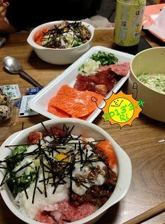 北海道の本気宅呑みψ(`∇´)ψ - 9件のもぐもぐ - Seafood bowl 海鮮丼 (≧∇≦) by amadeusParty