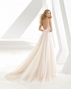 BELLA TRAJE NOVIA Q POSKET STYLE DISNEY BELLE WEDDING DRESS ROSA // PINK