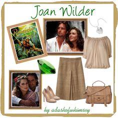 Joan Wilder - Romancing the Stone