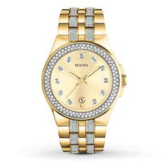 3578014a1 Bulova Men's Watch Crystals Collection 98B174