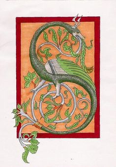 Medieval Wyvern by Ceinwen.deviantart.com on @deviantART