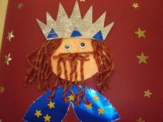 Tapa álbum Rey Gaspar. Dibujar a los reyes magos en la portada del álbum escolar                                                                                                                                                                                 Más