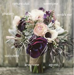 BOUQUET BREAKDOWN: Have you found a picture of the perfect bouquet or centerpiece for your wedding, but have no idea what flowers to buy or how to tell your florist exactly what you want? Ask the DIY Wedding Planner! #weddingflowers #diywedding #bouquet picture submitted by Alex on Instagram