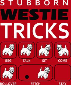 "Click visit site and Check out Cool ""Westie"" Shirts. This website is excellent. Tip: You can search ""your name"" or ""your favorite shirts"" at search bar on the top."