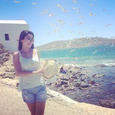 Just the landscape of Mykonos,  Greece  !