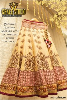 Excited for the upcoming wedding season? Show off your fashionista avatar with this decorous piece of Lehenga!  #decorous #lehenga #fashionista #fashiongoals