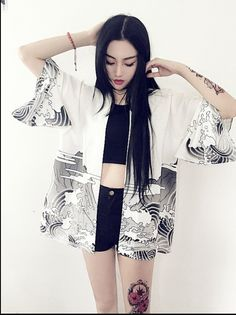 Follow Us For Great Street Styles  2017 novelty summer dragon waves printed chiffon sun cardigan kimono sun shirt women clothing outerwear blouse chemise femme     Get Stylish Clothes On A Budget!     FREE Shipping Worldwide     Get it here ---> http://ebonyemporium.com/products/2017-novelty-summer-dragon-waves-printed-chiffon-sun-cardigan-kimono-sun-shirt-women-clothing-outerwear-blouse-chemise-femme/    #streetstyle