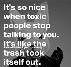 Haha yeees! #toxicpeople