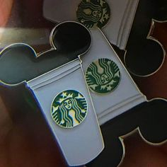 "40 Likes, 1 Comments - Pin Lounge (@pinlounge) on Instagram: ""Mickey Starbucks pin. LInk in Bio Part of our Season 1 Collection #pins #pinstagram #lapelpin…"""