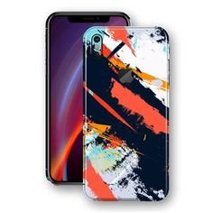 483cd2f52776 iPhone XS MAX Print Custom Signature Abstract Paitning 4 Skin Wrap Decal by  EasySkinz - Design