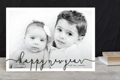 Cheerscape New Year Photo Cards by pandercraft at minted.com