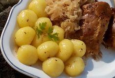 Jemné bramborové knedlíčky / noky ze dvou ingrediencí - Recepty.cz - On-line kuchařka Frittata, Dumplings, Marshmallow, Macaroni And Cheese, Pizza, Eggs, Gluten Free, Potatoes, Bread