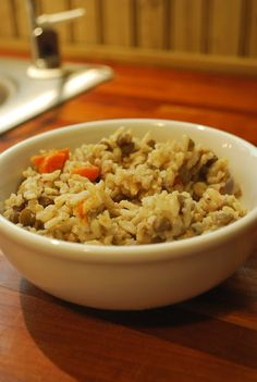 Candida and Food: Lentils and Brown Rice