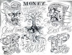 Boog Tattoo Art Tattoo Flash by Boog. Татуировки ...