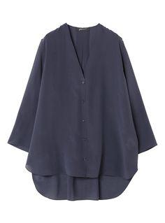 Vネックシルクシャツ STUNNING LURE STUNNING LURE online shop