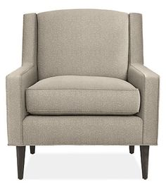Designed with small spaces in mind, our Braden chair lends sophisticated style without compromising on comfort. Braden's mid-century influences are evident in its angular shape, tapered legs and tailored details, creating a timeless chair that won't overwhelm your space.