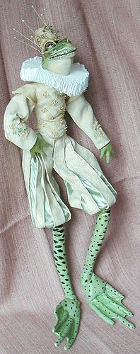 Frog prince doll by Kimhotep, via Flickr