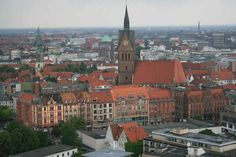 Germany Adventure: Hannover view from Rathaus