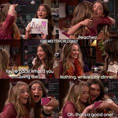Girl Meets World @girlmeetsworlddaily #GirlMeetsBelief ...Instagram photo