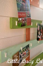 Little Lucy Lu: Christmas Tree Card Holder