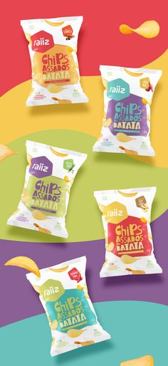 Raiiz // Sweet potato chips on Behance Cereal Packaging, Chip Packaging, Biscuits Packaging, Pouch Packaging, Food Packaging Design, Coffee Packaging, Brand Packaging, Branding Design, Food Graphic Design