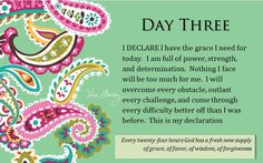 """Day """"I Declare; 31 Promises to Speak Over Your Life"""" by Joel Osteen Biblical Quotes, Bible Quotes, Lakewood Church, Knowledge And Wisdom, Joel Osteen, Gods Promises, Spiritual Inspiration, Words Of Encouragement, Trust God"""