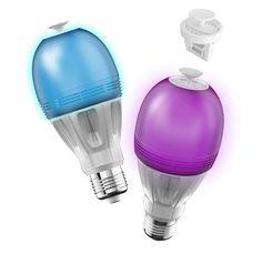Ampoule LED couleur Bluetooth avec un diffuseur d'huile essentielle intégré | Noel de la French Tech | #frenchtech