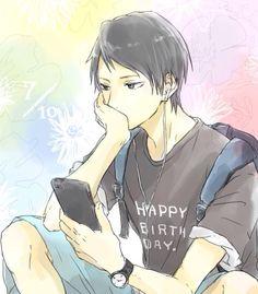 Kuroko no Basket (黒子のバスケ) - Shuuzou Nijimura (虹村 修造) - Happy Birthday! 7/10 Kuroko No Basket, Sasuhina, Water Art, Kuroko's Basketball, Manga Games, Anime Outfits, Manga Anime, Animation, Cosplay