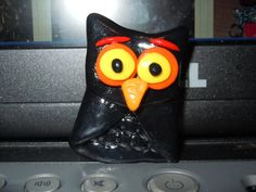 Halloween Owl Magnet Decor by laminartz on Etsy, $5.99
