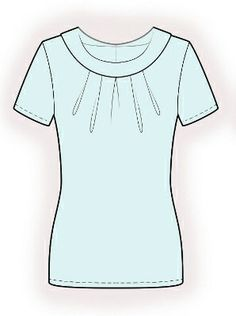4234 PDF Sewing Pattern for Blouse Personalized for by TipTopFit, $2.49