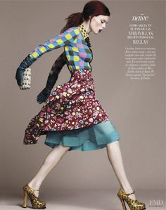 Coco Rocha featured in Sin Limite, December 2012 VOGUE MEXICO