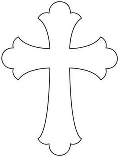 Baptism Cross Clipart Black And White & Baptism Cross Clip Art Black . Cross Patterns, Scroll Saw Patterns, First Communion Banner, Communion Banners, Motif Simple, Wooden Crosses, Cross Crafts, Cross Designs, String Art
