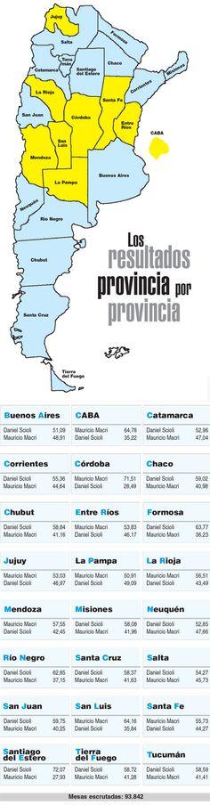 El mapa electoral de Página/12