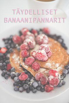 Täydelliset banaanipannarit | Mona's Daily Style