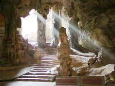 Underground City in the provincial capital of Phetchaburi, to visit Khao Wang, the summer residence of King Mongkut [Rama IV] where you can explore Khao Luang Cave housing 170 revered Buddha statues.