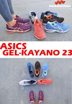 best loved d9b02 db2da Con las zapatillas running ASICS GEL-KAYANO 23 para hombre o mujer podrás  correr largas