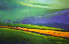 ZLATI REZ: Umetnik Michael Mckee- slikar suhega pastela