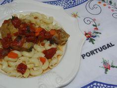 chicken cacciatore - galinha a cacador recipe from Tia Maria's Blog