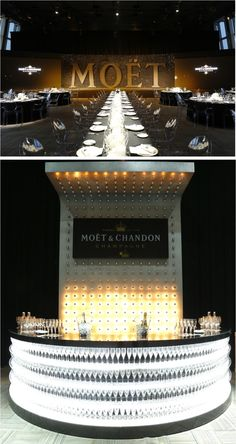Moet Chandon event in our SWFC Observatory Moet Chandon, Corporate Event Design, Event Branding, Marketing Branding, Champagne Bar, Bar Lounge, Bars For Home, Restaurant Bar, Event Decor