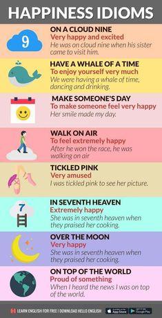 Happy Idioms...