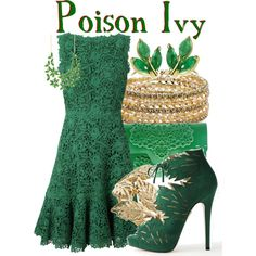 Poison Ivy from DC Comic Villians: Gotham City